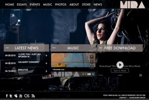 Mira Black Website