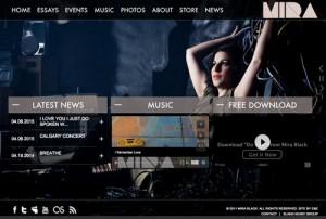Mira Black Website